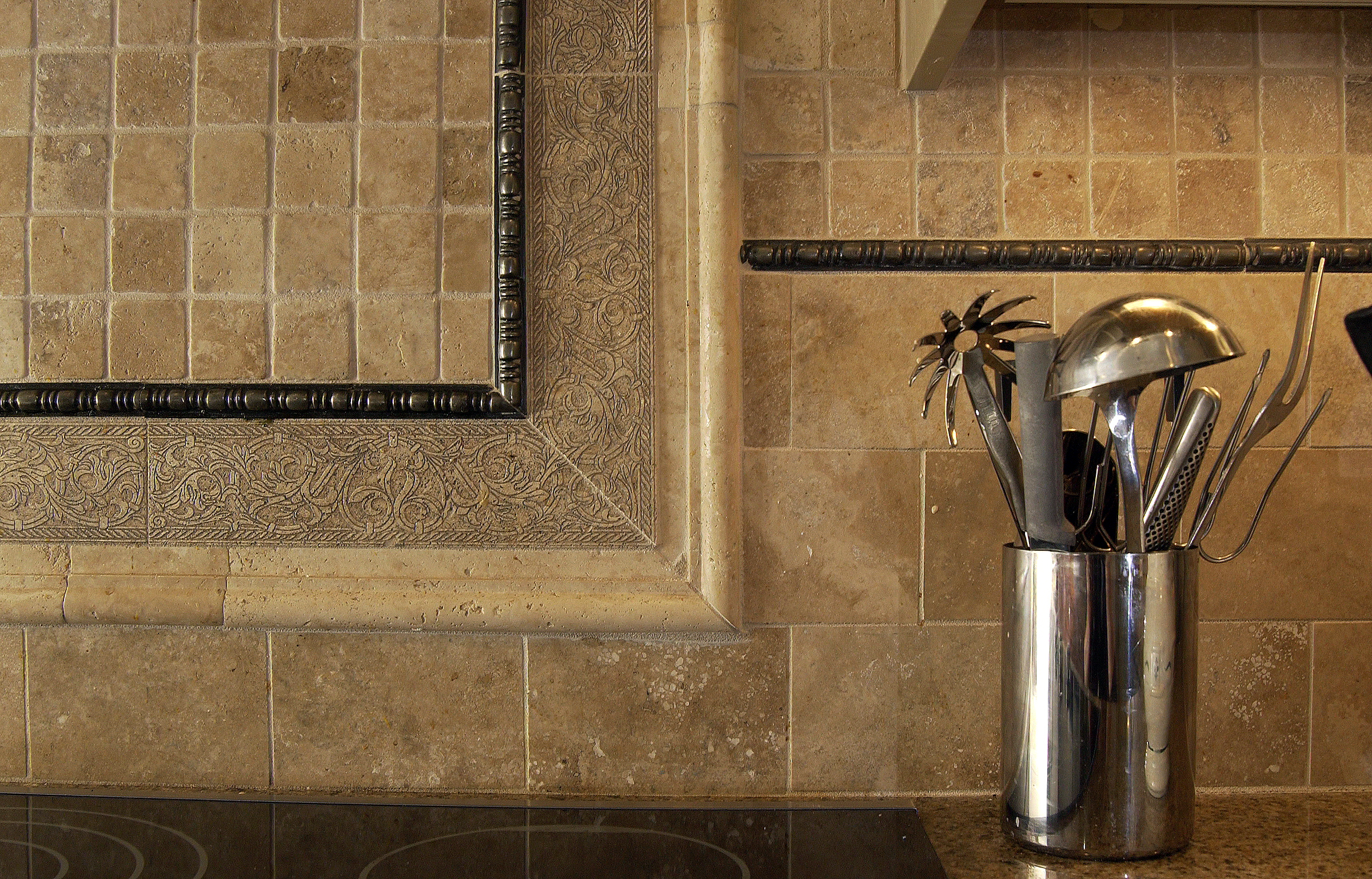 kitchen backsplash designs on Traditional Backsplash